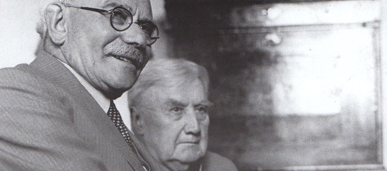 with Lionel Tertis 1958